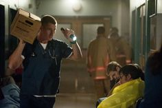 "THE NIGHT SHIFT -- ""Storm Watch"" -- (Photo by: Lewis Jacobs/NBC) Pictured Brendan Fehr as Drew"