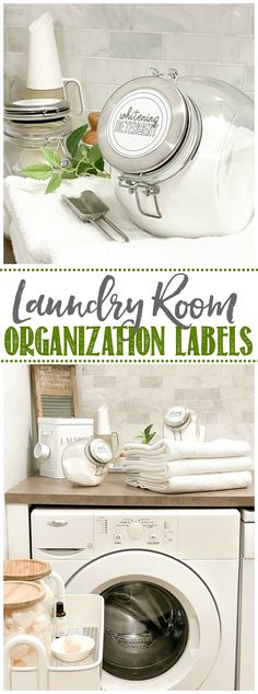 DIY Laundry Room Labels on Cricut Joy - Clean and Scentsible