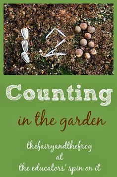 Math in the garden; Combing counting, number sense, and writing with gardening. A great post on teaching academics in the garden!