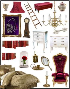 Beauty and the Beast room I WANT THIS SO BAD !!!!!!!!!!!!!!