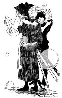 Zoro, Sanji and Luffy #one piece