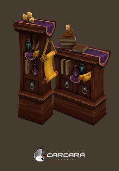 Furniture props, Antonio Neves on ArtStation at http://www.artstation.com/artwork/furniture-props