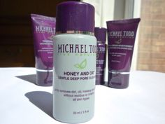 NatuRia Beauty: Michael Todd True Organics Discovery Set Honey and Oat Cleanser
