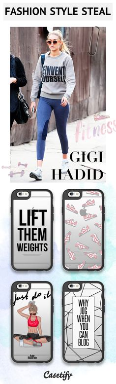 Get the Look - Fashion Style Alert! Love Gigi Hadid as much as us? Shop her style here >>> https://www.casetify.com/artworks/lL6onanXzh | @casetify