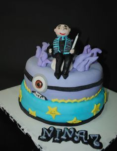 Despicable me cake by Torte Sweet Nina