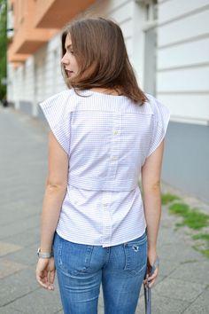 at least - #160 | Die Bluse, die mal ein Hemd war