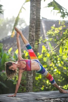 Colourful yogi