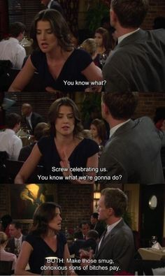 My favorite quote in HIMYM XD, this is hilarious! Funny Gags, Hilarious, Marshall Eriksen, Barney And Robin, Robin Scherbatsky, Ted Mosby, Himym, How I Met Your Mother, Just For Laughs