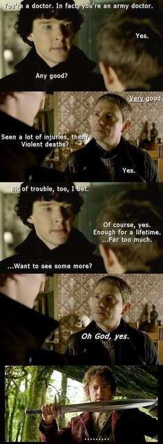 From the Hobbit to Sherlock.