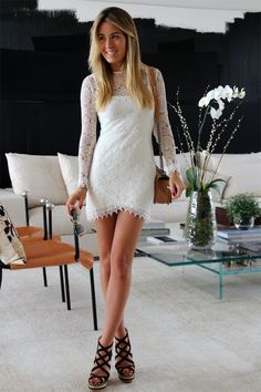 *nothing can beat this white pretty dress*