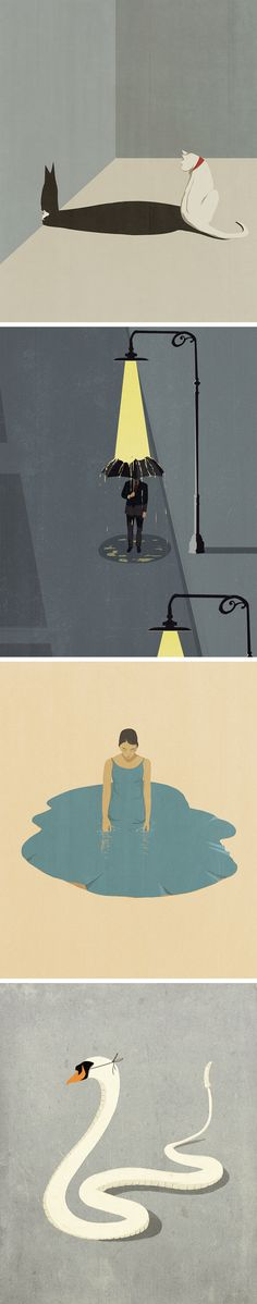 Conceptual Illustrations That Unveil Hidden Worlds by Andrea Ucini
