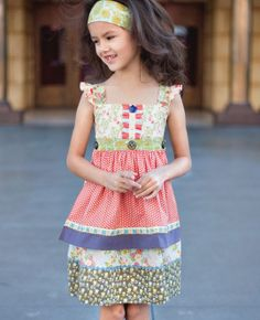Matilda Jane Clothing - Lucky Stars Knot Dress SOLD