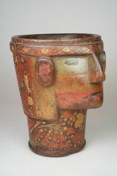 Kero | Quechua | The Met Peru Culture, Maker Culture, Tropical Forest, Metropolitan Museum, 17th Century, Art History, Folk Art, Tapestry, Antiques