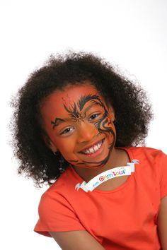 Une idée originale pour se maquiller en ninja dragon !