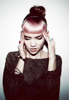 Grimes. i love her hair