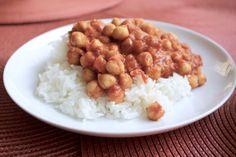 Chana masala for dinner