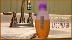 Homemade Face Wash – A Natural Facial Cleanser