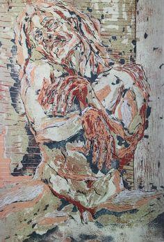 Presentation of artist Albinus Grammar. Expressionist painter and woodcut print master. Grammar, Selfie, Wood, Artist, Painting, Woodwind Instrument, Timber Wood, Artists, Painting Art