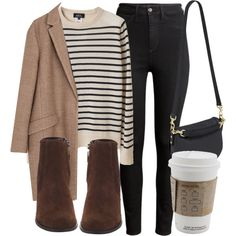 Untitled #4819 by laurenmboot on Polyvore featuring polyvore, fashion, style, A.P.C., Zara, H&M, Mulberry and clothing