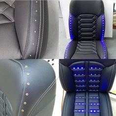 Alea Leather led seat concept