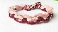 Wavy Friendship Bracelet Braided Bracelet by beausbitsandbobs, £4.30