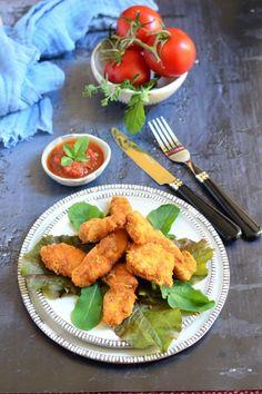 Parmezános csirkemell mártogatóssal recept