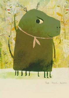 Picture Book Maker, Richard Jones, Monster Illustration, Holiday Cards, Handmade, Painting, Illustrations, Instagram, Art