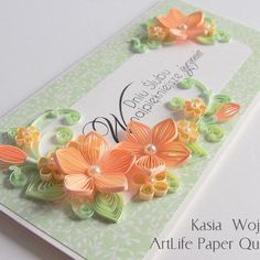 #quilling #flowers for #wedding