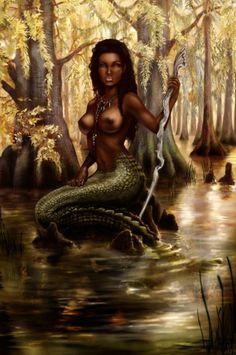 Bayou Mermaid by SereneYoshiko