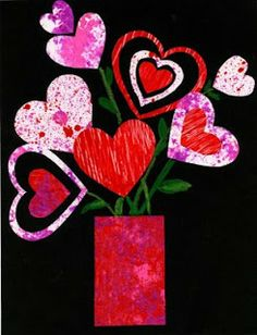 Doing this for valentine's and artist of the month: Eric Carle