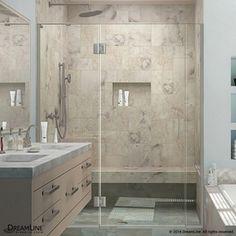 Dreamline Unidoor-X 55.5-In To 56-In Frameless Shower Door