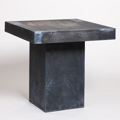 Square Resin Dining Table