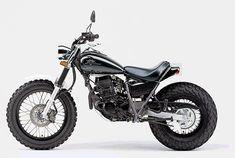 Small Motorcycles, Custom Motorcycles, Custom Bikes, Tw Yamaha, Yamaha Tw200, Moped Bike, Cafe Bike, Suzuki Gn 125, Tw 125