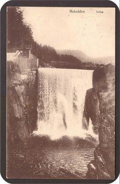 Notodden. Tinfos. Utg.Evensen. St Vemork -1913. Niagara Falls, Norway, Nature, Travel, History, Voyage, Viajes, Traveling, The Great Outdoors