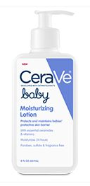 CeraVe-Moisturizer- Ceramides, Hyaluronic Acid, Niacinamide and No Parabens-it doesn't have to be just for baby.