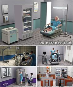 Around the Sims 3 | Custom Content Downloads| Objects | Sims 4 to 3 - Hospital