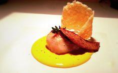 Capesante con foie gras e parmigiano