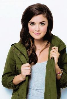 """Lucy Hale - """"I'm actually very similar to Aria. When I got the script, they were sort of like, 'Lucy, pick a character'. I was initially drawn to Aria. She's very creative and headstrong, a little bit stubborn and sassy."""""""
