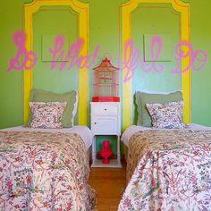"93 Likes, 6 Comments - Ginevra Held (@ginevraheld) on Instagram: ""Spring Fling, bedroom edition... Design: @ginevraheld #ginevraheldinteriordesign #interior…"""