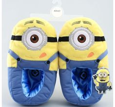 Despicable me slippers! MARK HALL I need these....