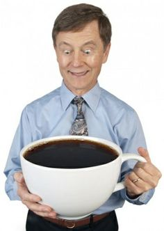 For all of us Coffee Lovers!..A Giant Coffee Cup; just a little humor for the daybreak!
