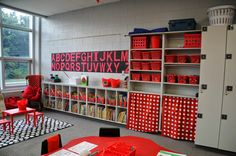 Red and Black Classroom Library                                                                                                                                                     More