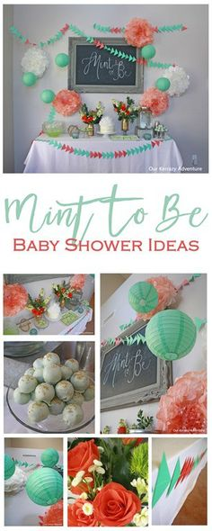 Mint-To-Be-Shower-Ideas-Mint-and-Coral-Ideas-.jpg (307×768)