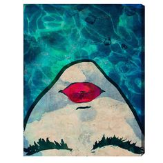 Water Coveted Graphic Art Print on Canvas