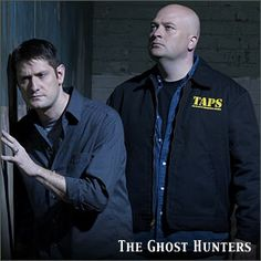 Ghost Hunters Grant Wilson & Jason Hawes, I am hooked on this show!  So sad Grant has decided to retire!
