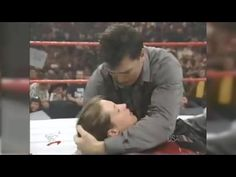 Test is in a relationship with Stephanie McMahon, and Shane has a problem with that. He wants his sister to date Joey Abs, member of the Mean Street Posse. Shane Mcmahon, Female Wrestlers, Breakup, Youtube, Fictional Characters, Breaking Up, Fantasy Characters, Youtubers, Youtube Movies