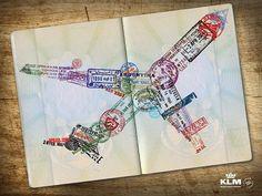 Passport in flight