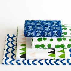 wrapping paper collection, jessica nielsen