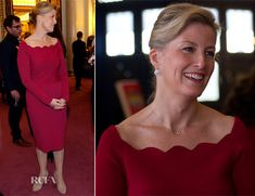 Sophie, Countess of Wessex In Valentino – 'Doctor Who' 50th Anniversary Celebration