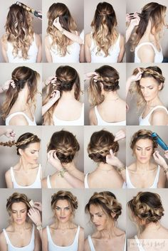 Braided Crown Hair Tutorials & Looks For Every Girl - StyleVilas.com